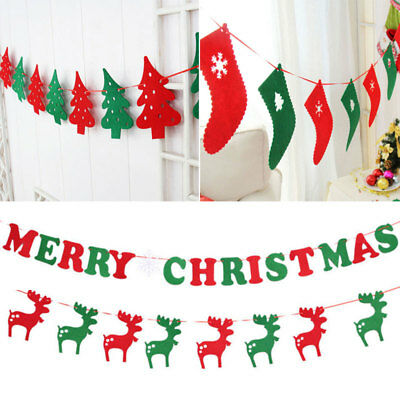 Tree Decorations Stocking Elk Eight Flag Bunner DIY Merry Christmas Ornament Neu