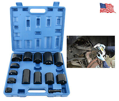 14PC Master Ball Joint Adapter Set Removal & Installer service tool for 2 or 4WD