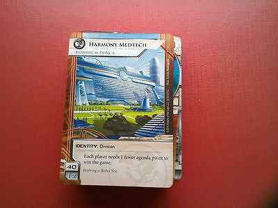 Netrunner LCG - Honor and Profit - 1 copy of every card.