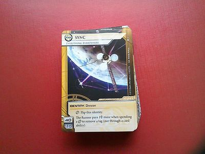 Netrunner LCG - Data and Destiny - 1 copy of every card.