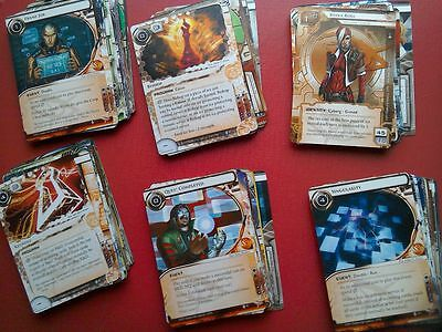 Netrunner LCG - The Spin Cycle - 1 copy of every card.