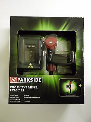 New Parkside Cross Line Laser LED Display, Self Levelling, Free Postage!