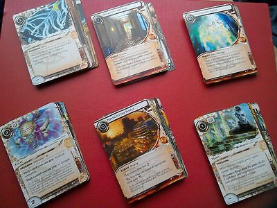 Netrunner LCG - SanSan Cycle - 1 copy of every card.