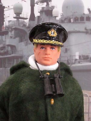Vintage Action Man Royal Navy WW2 Convoy Officer Figure circa 1975
