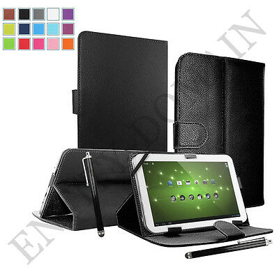"Universal Smart Leather Folding Case Cover For Android Tablet PC 9.7"" - 10.1"""