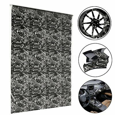 Cool Hydrographic Engine Machine Water Transfer Hydro Dipping DIP Print Film 1M