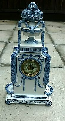 Vintage/antique unusual Germany clock mount with working clock