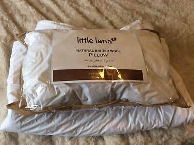 Little Lana organic wool duvet and pillow set baby toddler devon duvets