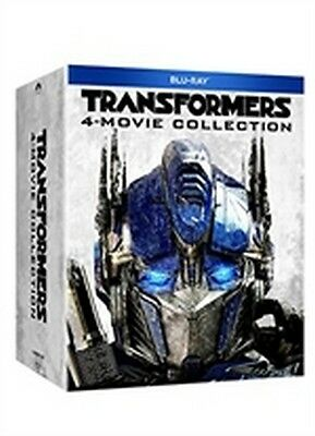 Transformers Quadrilogia (4 Blu-Ray Disc) - ITALIANO ORIGINALE SIGILLATO -