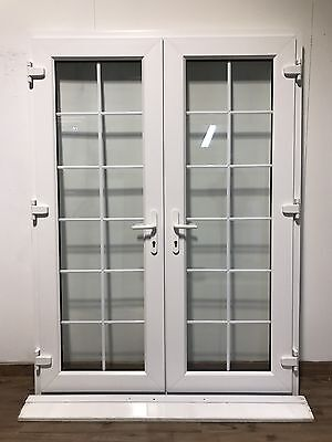 Upvc french doors picclick uk for Used patio doors