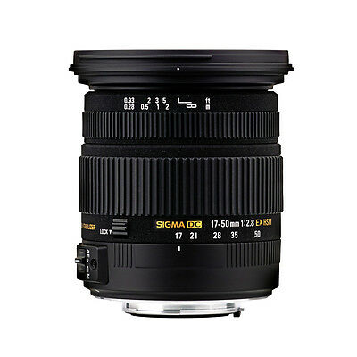 Sigma 17-50mm f/2.8 EX DC HSM Optical Stabilised Zoom Lens Sony Fit!