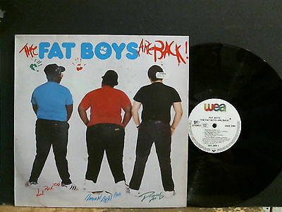 FAT BOYS  The Fat Boys Are Back  LP  Vinyl original  Old Skool  Hip Hop  Great !