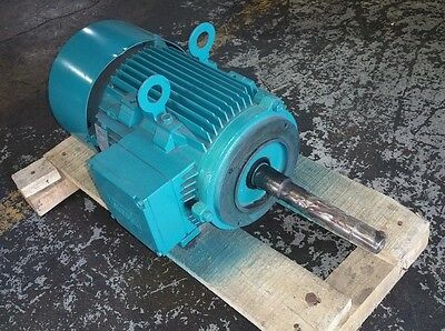 Brook Crompton 3 Hp 3600 Rpm Tefc 208/230/460 V 182Jp 3 Phase Motor New Surplus