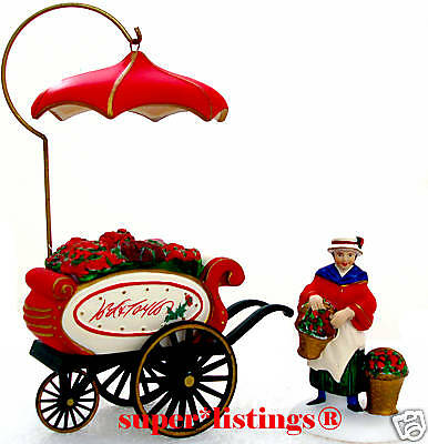 Dept. 56 Lord & Taylor Flower Cart Exclusive Dickens Village 02250