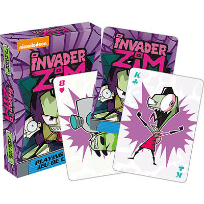 Invader Zim Playing Cards - Brand New