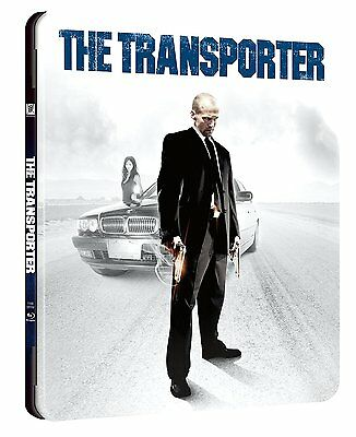 Blu Ray  Steelbook The Transporter (2002)  Neu & Ovp
