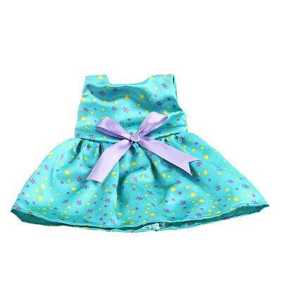 Fashion Bowknot Sleeveless Dress for 18'' American Girl Journey Doll Clothes
