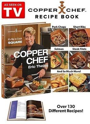 Copper Chef Cook Book As Seen On Tv by Eric Theiss - NEW, FREE SHIPPING