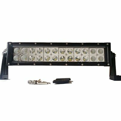 "12"" CREE Double ROW LED Light Bar & HARNESS ARCTIC CAT WILDCAT atv utv jeep jk"