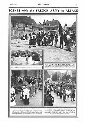 1915 Antique Print - Ww1- The Roll Of Honour #8