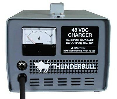 Club Car Golf Cart Battery Charger 48 Volt 13 Amp  Electric Precedent & DS
