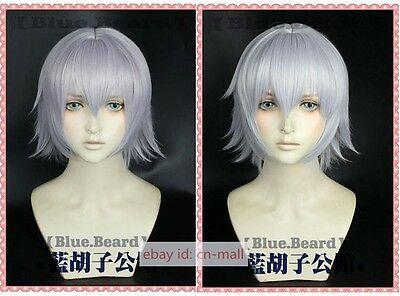Fate Apocrypha Jack the Ripper Anime Halloween Short Cosplay costume wig 2 color