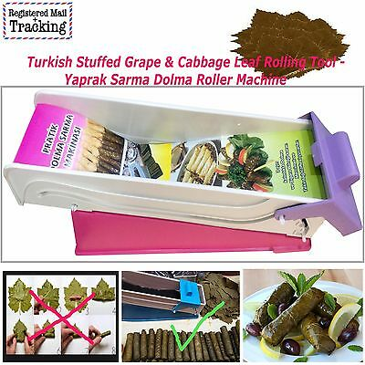 Turkish Stuffed Grape Leaf Rolling Tool - Yaprak Sarma, Dolma Roller Machine