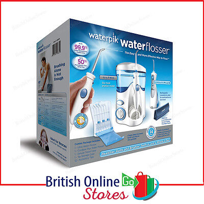Waterpik Water Flosser Cordless Plus & Ultra Combo Pack