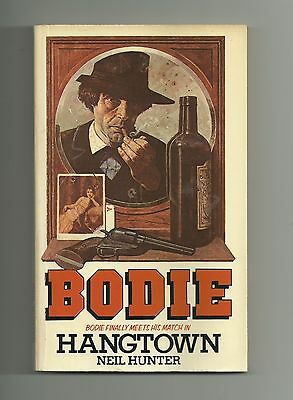 Bodie the Stalker 5 Hangtown by Neil Hunter (Star Paperback 1979)