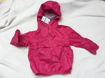 Next girl pink cagoule. 3 years. BNWT. RRP £13