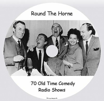 ROUND THE HORNE - 70 Old Time Comedy Radio Shows MP3 CD
