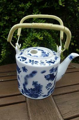 Vintage Chinese Teapot Signed