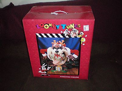 nos NEW LARGE  ANIMATED TAZ LOONEY TUNES MOTIONETTE IN BOX  1.00 no reserve