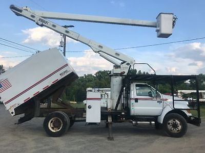 2008 Ford F750 Bucket Truck with Forestry Package  and 60FT Versalift Boom