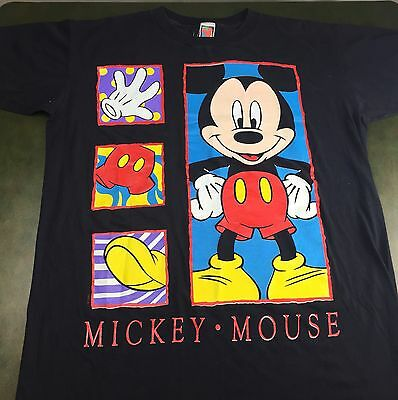 Vintage Mens XL/2XL 80s 90s Walt Disney Mickey Mouse Unlimited Graphic T-Shirt