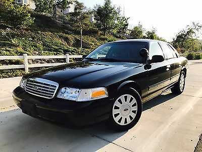 2010 Ford Crown Victoria STREET APPEARANCE PACKAGE 2010 FORD CROWN VICTORIA POLICE INTERCEPTOR (VERY AGGRESSIVE) STRICT MAINTENANCE