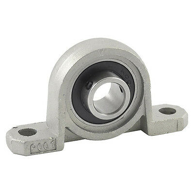 KP001 Pillow Block 12mm Bore Diameter Ball Bearing metal L3Q4