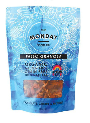 Monday Food Co. Paleo Granola Chocolate, Cherry & Hazelnut 300g