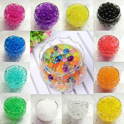"500pc (4gr) HYDROGEL Water Bead Pearl Balls (2-2.5mm) 3/8"" Decoration Plant Vase"