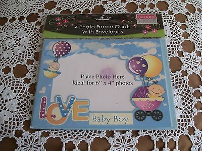 Baby Boy Photo Frame Cards