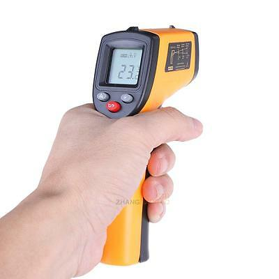 Laser Infrared IR Digital Non-Contact Thermometer Gun Point Temperature Gauge