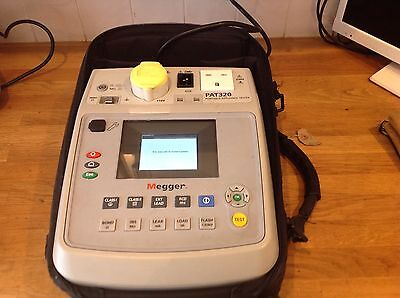 Small-Appliance-tester-MEGGER-PAT320-including-case-