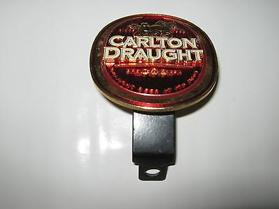 Retro Style Carlton Draught Beer Tap Badge, Decal, Top