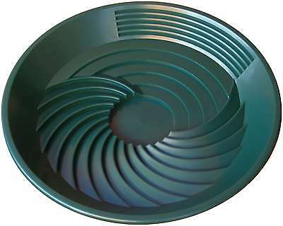 TURBOPAN Gold Pan GREEN by original inventor prospecting mining sluice in a pan