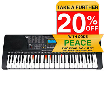 61 Piano Key Electronic Keyboard w/ Illuminating Keys/Teaching Music Programs