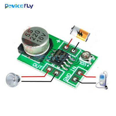 DC 3-12V 750mW Mini LM386 Micro Audio Power Amplifier Amp Board Module