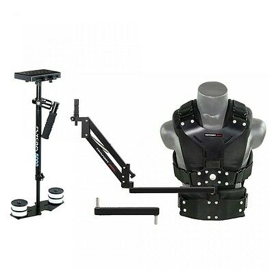 FLYCAM 5000 Video Camera Steadycam System with Comfort Arm and Vest Upto 5Kg