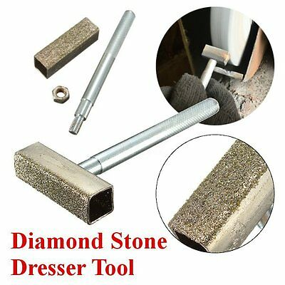 8.5cm Diamond Dressing Bench Grinder Grinding Disc Wheel Stone Dresser Tool
