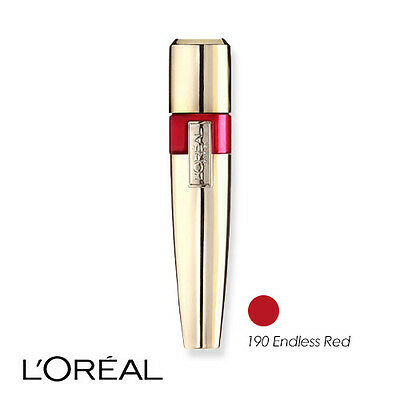 L'Oreal Colour Riche Caresse Acqua Lip Lacquer Lip Stain 190 Endless Red