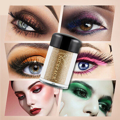 17 Farben Pro Makeup lose Powder Glitter Lidschatten Beauty Eye Shadow Pigment